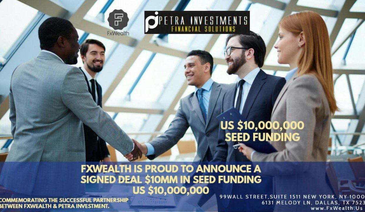 FxWealth $10MM Investment Funding